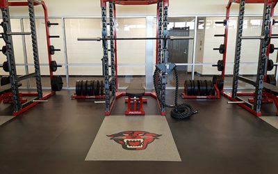 DAVENPORT UNIVERSITY ATHLETIC FACILITY – COMMERCIAL FLOORING